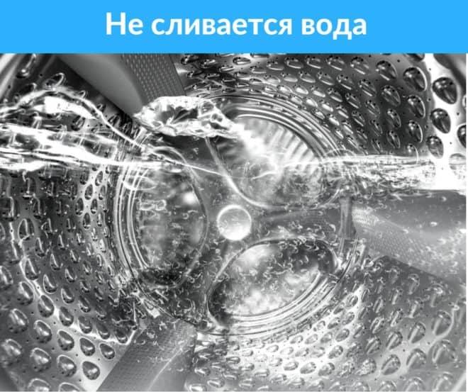 Вода в барабане