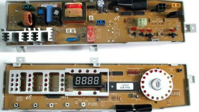 Модуль управления от стиральной машины